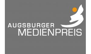 Logo Medienpreis white EPS